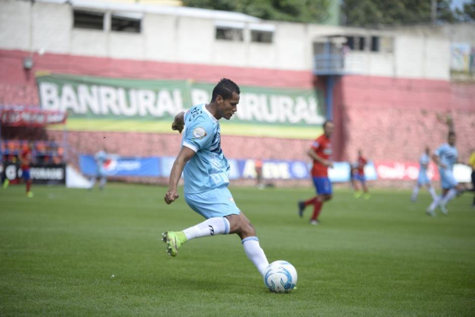 Sanarate no generó muchas opciones de gol. (Foto: Wilder López/Soy502)