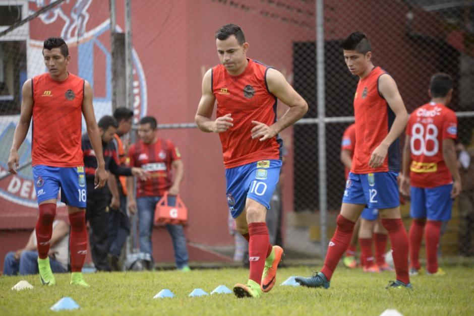 Marco Pablo Pappa jugó como titular. (Foto: Wilder López/Soy502)