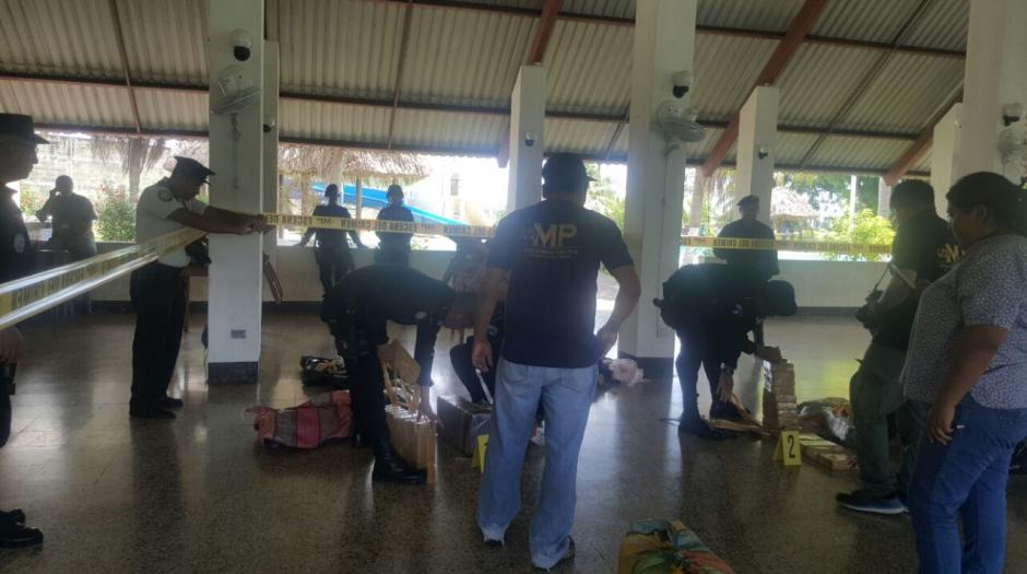 800 kilogramos de cocaína fueron contabilizados. (Foto: MP)