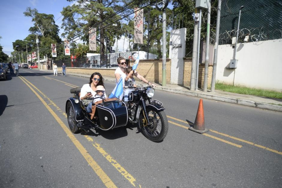 Varios de los asistentes llegaron a bordo de motocicletas. (Foto: Wilder López/Soy502)