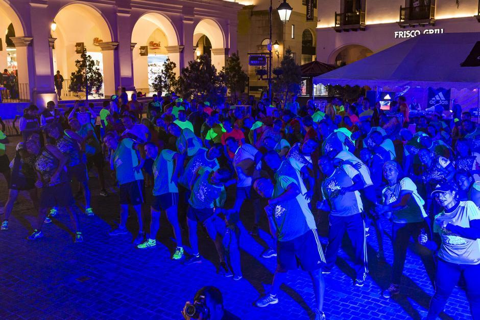 Para celebrar la alianza se realizó una carrera de 6K  en Cayalá. (Foto: cortesía Adidas Guatemala)