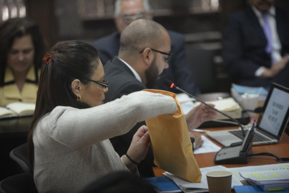 Roxana Baldetti dijo que el Ministerio Público es un fantoche de la CICIG. (Foto: Wilder López/Soy502)