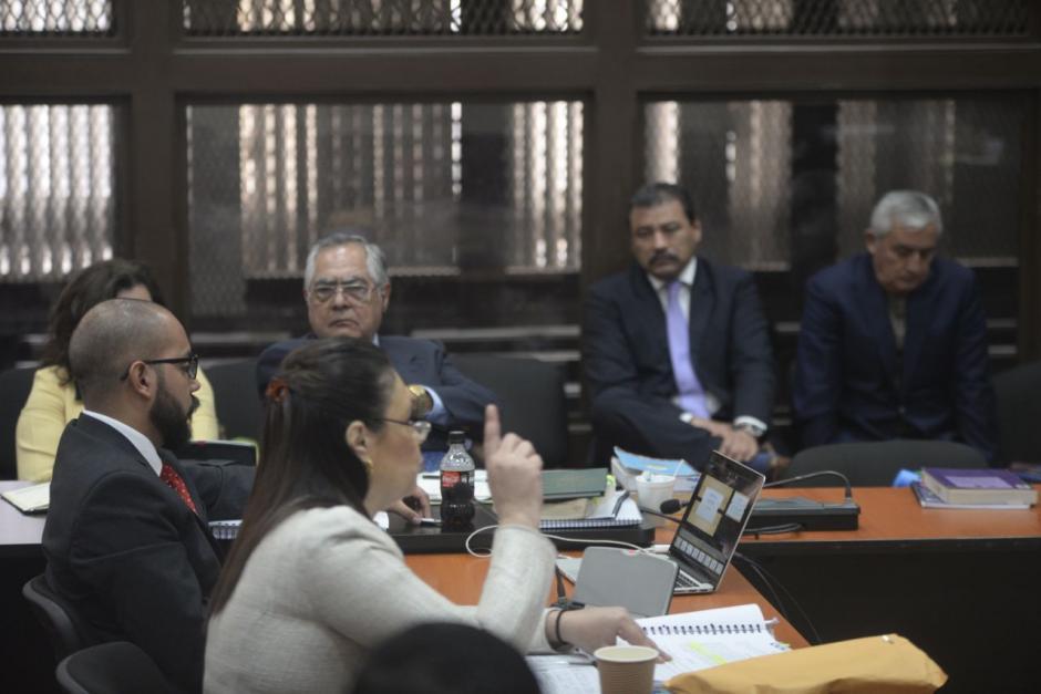 La declaración duró un poco más de 25 minutos. (Foto: Wilder López/Soy502)