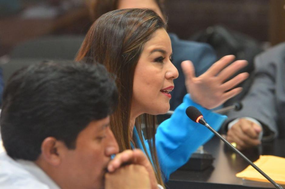 Claudia Azucena Méndez Asencio se defendió de la acusación por el caso La Línea. (Foto: Jesús Alfonso/Soy502).