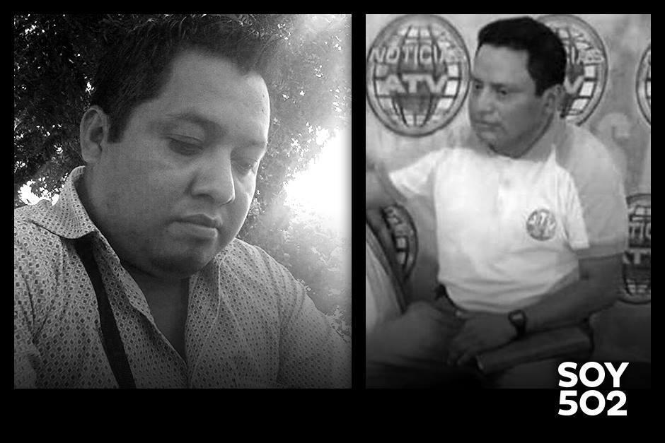 Danilo López y Federico Salazar eran corresponsales en Mazatenango, Suchitepéquez. (Foto: Soy502).