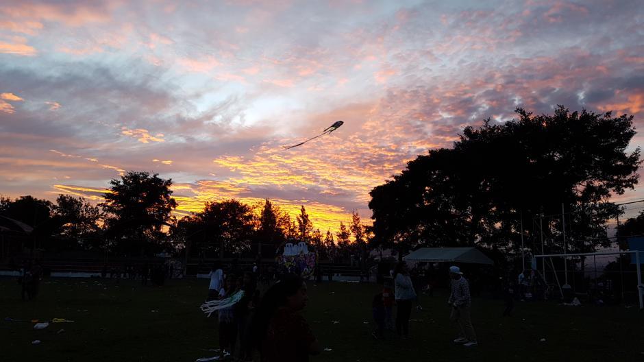 Los atardeceres en Santo Domingo Xenacoj son un espectáculo de la naturaleza. (Foto: Muni de Santo Domingo Xenacoj)