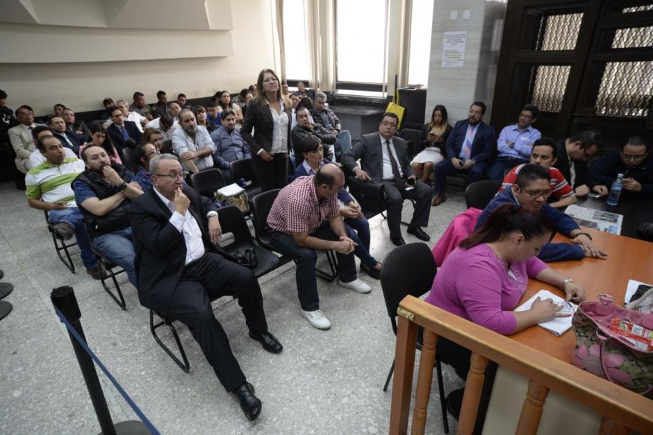 El MP acusa a 30 personas en el caso La Línea. (Foto: Wilder López/Soy502).