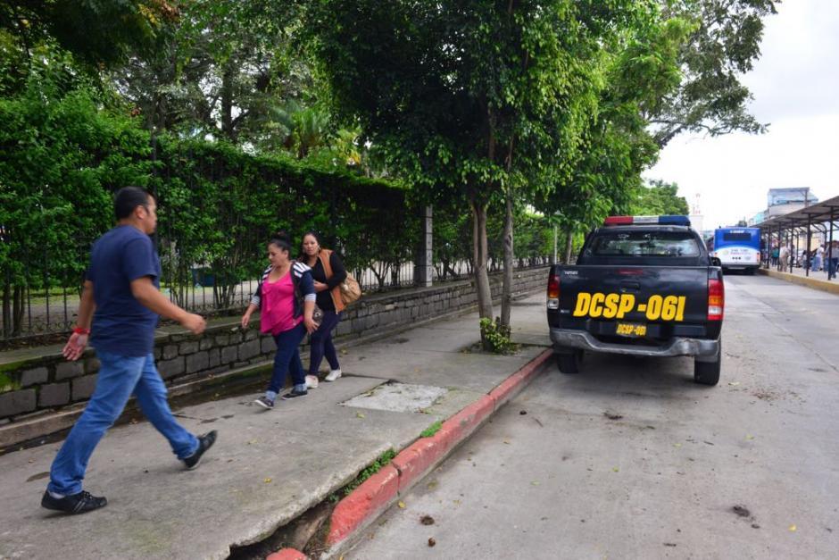 La presencia de la policía ha aumentado en las últimas semanas. (Foto: Jesús Alfonso/Soy502)