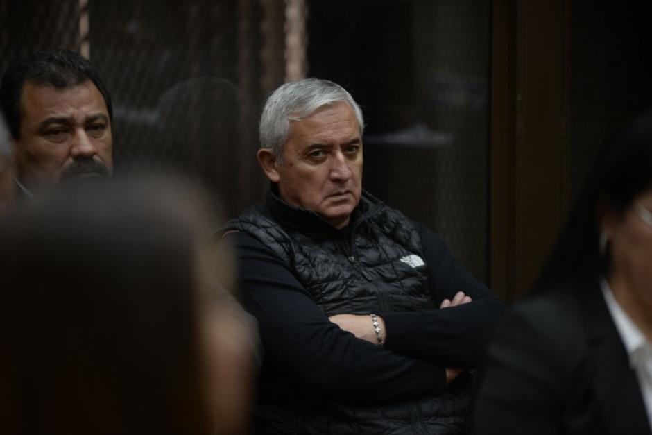 Otto Pérez Molina permanece en prisión preventiva desde septiembre de 2015. (Foto: Wilder López/Soy502).