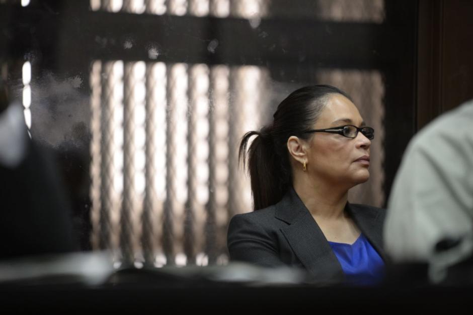 Roxana Baldetti ya presentó su defensa ante el juez Miguel Ángel Gálvez. (Foto: Wilder López/Soy502).