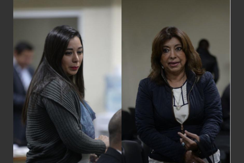 Caridi justificó que todo lo que firmó fue por instrucción de la ex registradora general, Anabella de León. (Foto: Wilder López/Soy502)