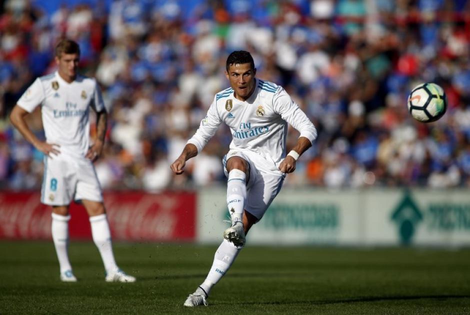 Cristiano Ronaldo rompió la sequía ante el Getafe. (Foto: AFP)