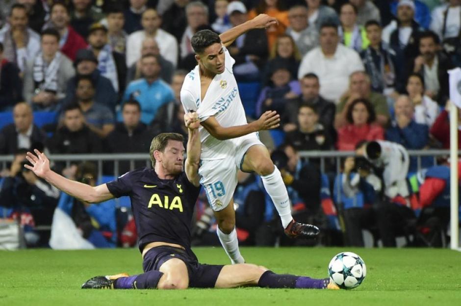 El Tottenham complicó en todas las zonas al Real Madrid. (Foto: AFP)