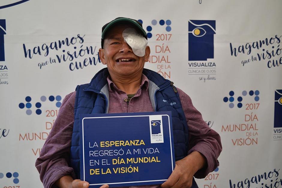 Se donaron más de 250 cirugías de catarata. (Foto: cortesía de Visualiza)