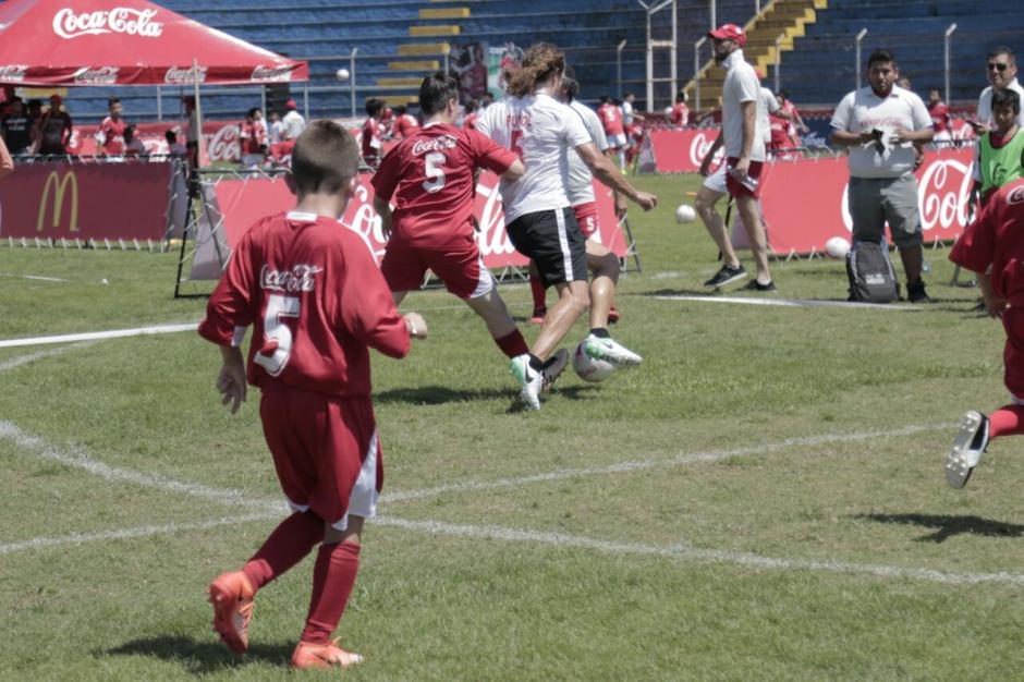 Los jóvenes guatemaltecos jugaron fuerte. (Foto: Alejandro Balán/Soy502)