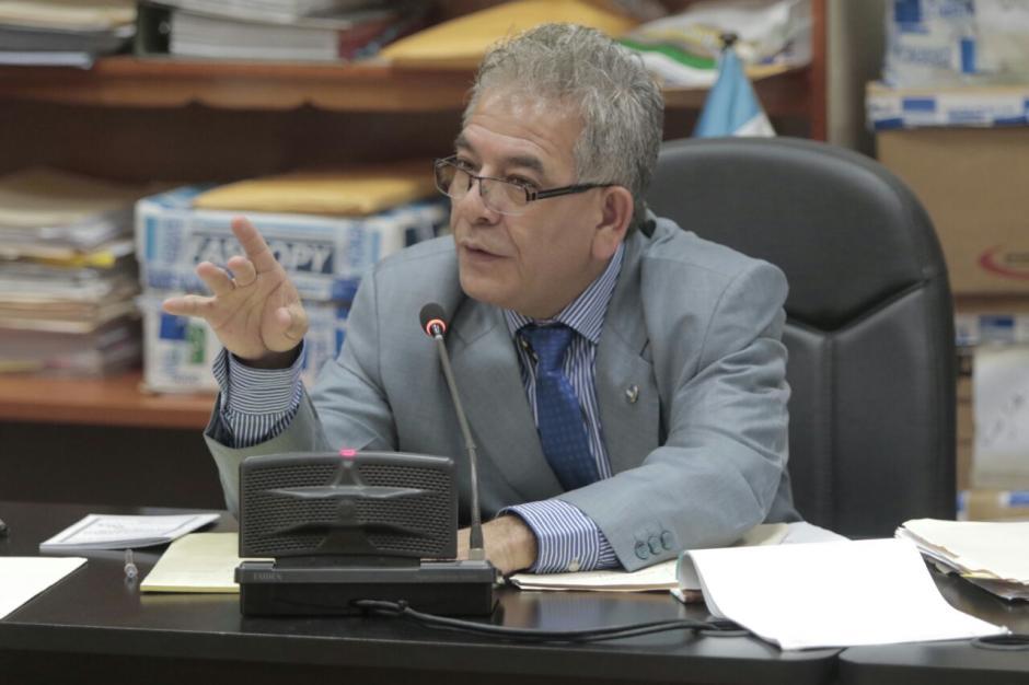 El juez Miguel Ángel Gálvez ha pedido calma a los sindicados. (Foto: Alejandro Balán/Soy502).