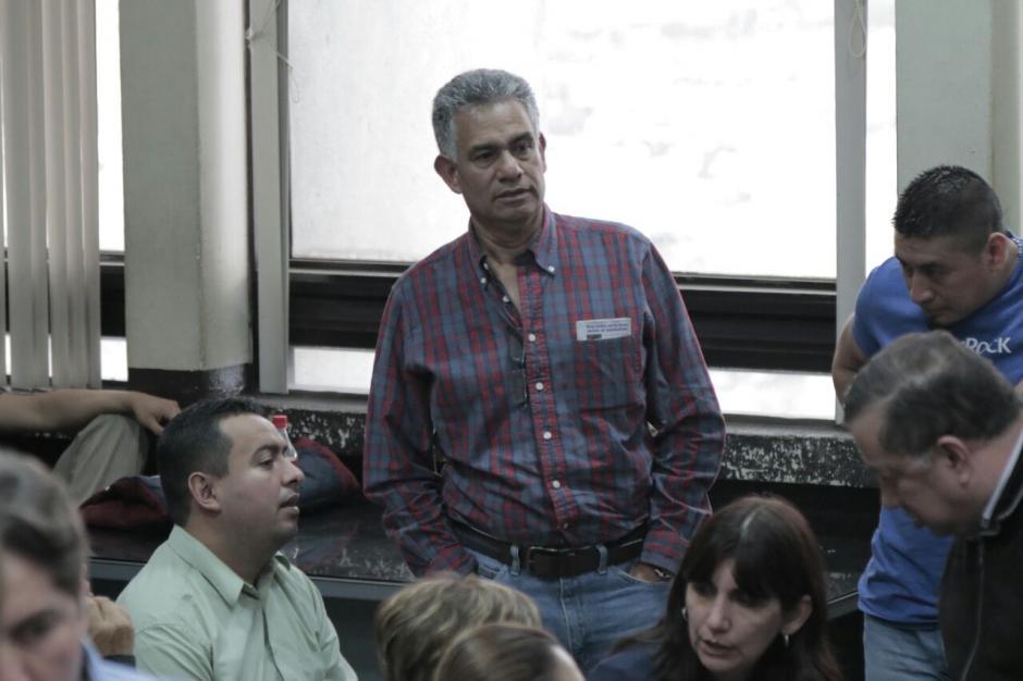 Carlos Muñoz, exintendente de Aduanas enfrentará juicio solo por el delito de asociación ilícita. (Foto: Alejandro Balán/Soy502).