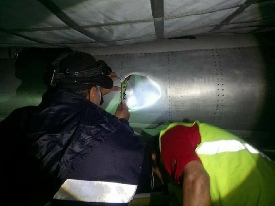 De inmediato empezaron las remodelaciones. (Foto: Josue López/Aerotob Aviation Services)