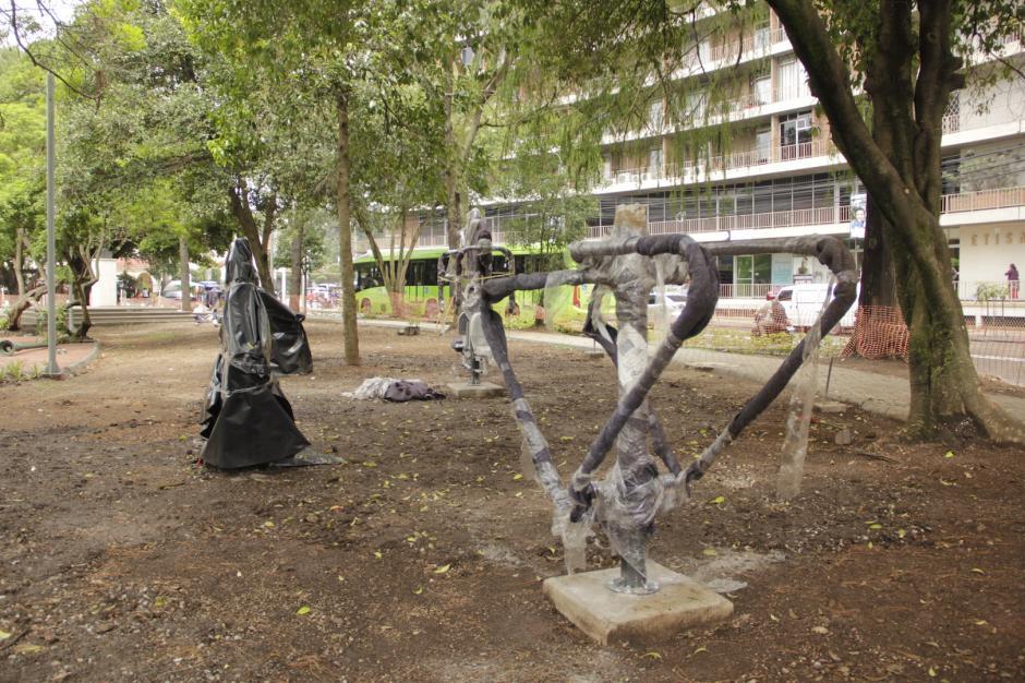 Las máquinas para hacer ejercicios. (Foto: Fredy Hernández/Soy502)