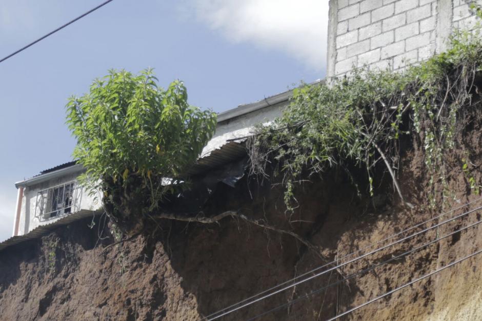 El peligro que corren varias viviendas es latente. (Foto: Alejandro Balán/Soy502)