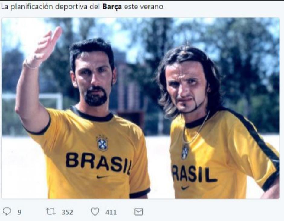 ¿Y los fichajes de Barcelona? (Foto: Twitter)
