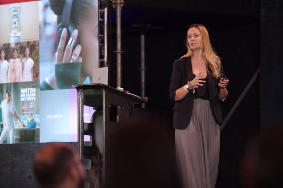 Cecilia Seitun compartió consejos para valorar el contenido en redes sociales. (Foto: George Rojas/Soy502)