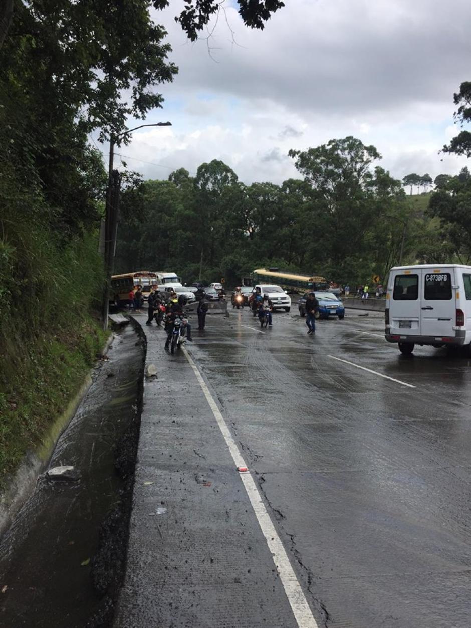 Sectores como la Aguilar Batres están afectados. (Foto: Compartida usuarios redes sociales)