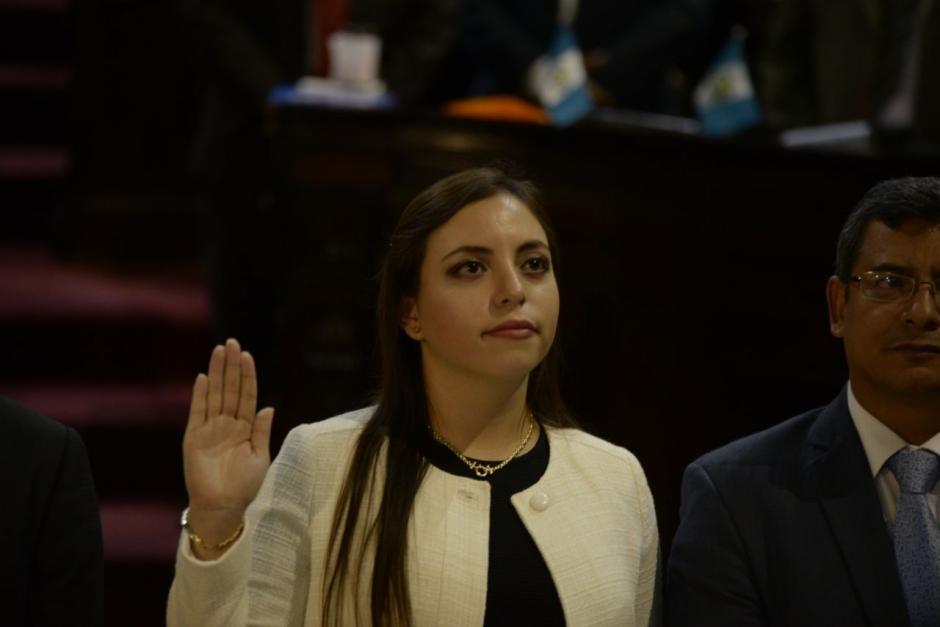 Andrea Villagrán ocupará la curul dejada por Christian Boussinot. (Foto: Wilder López/Soy502)