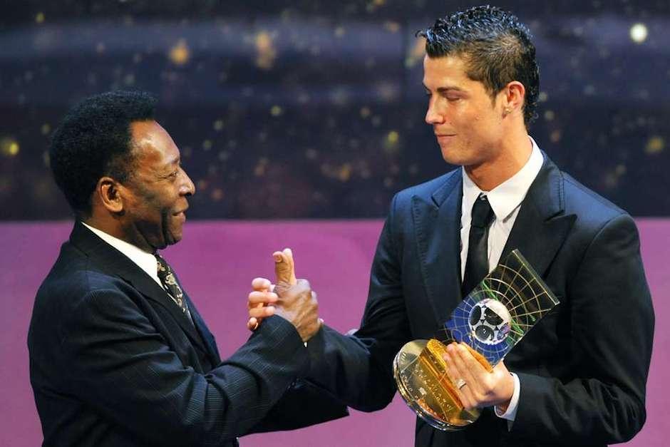 Pelé y un desafío imposible para Cristiano Ronaldo