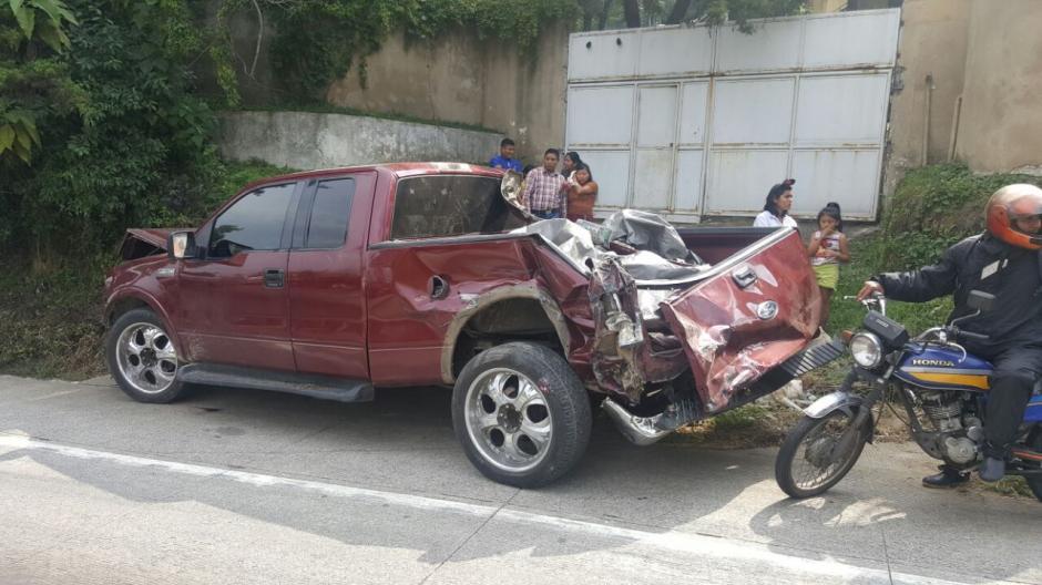 Se desconocen las razones que ocasionaron el percance vial. (Foto: Bomberos Municipales Departamentales)