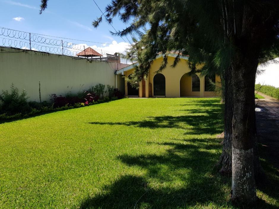 La casa está valorada en 1.7 millones de quetzales. (Foto: MP)