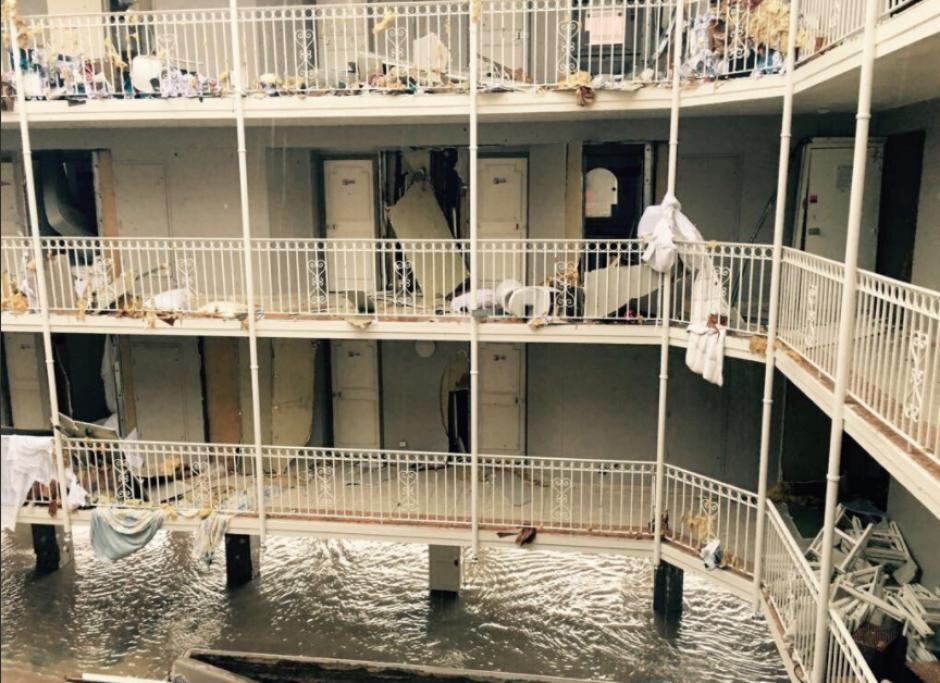 El paso del huracán Irma causó severos daños en las islas del Caribe. (Foto: Twitter/@MeteoExpress)