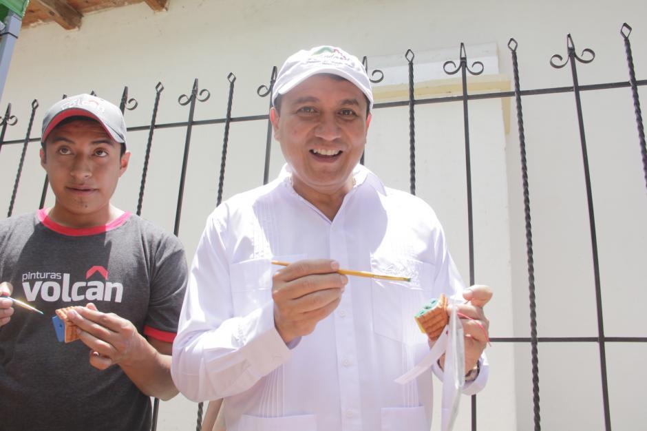 Jorge Mario Chajón, director del Inguat espera encontrar el mecanismo para promover este destino.  (Foto: Fredy Hernández/Soy502)