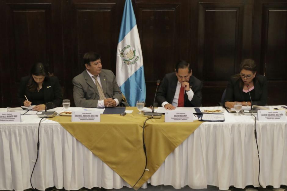 La comisión pesquisidora espera presentar su informe el domingo. (Foto. Alejandro Balán/Soy502)