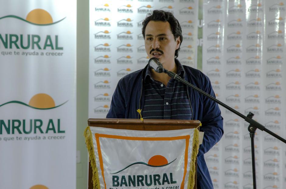 """""""La meta es recibir más de 300 ideas de muchas partes del país"""", explicó Andrés Cano, miembro de Socialab Guatemala. (Foto: Victor Xiloj/Soy502)"""
