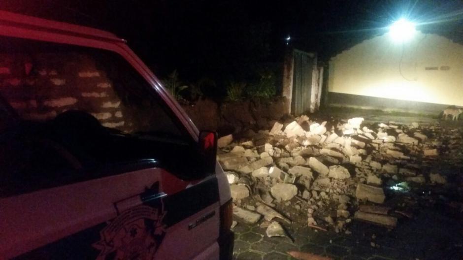 Los departamentos afectados son San Marcos, Huehuetenango y Quetzaltenango. (Foto: Bomberos Municipales Departamentales)