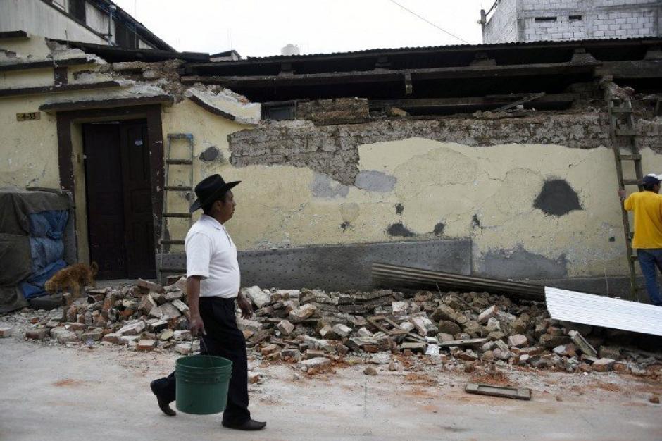 Se reportaron daños en infraestructura. (Foto: AFP)