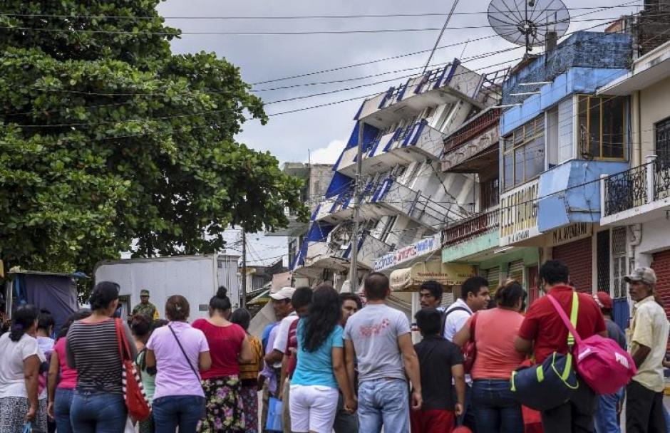 Muchos mexicanos debieron evacuar sus viviendas. (Foto: AFP)