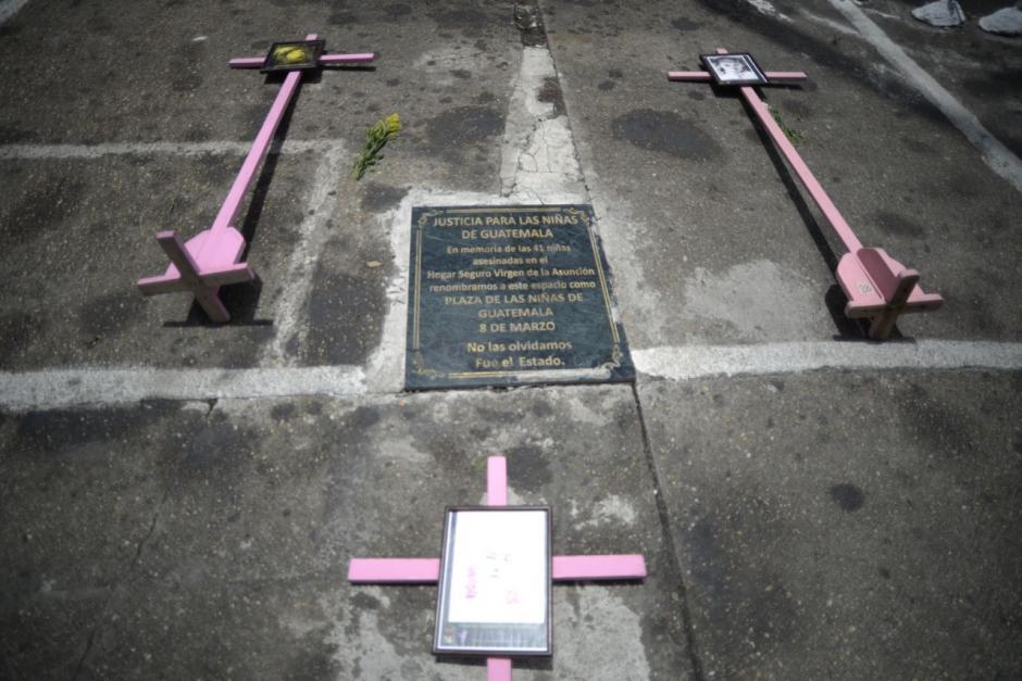 El colectivo llamó a la Plaza de las Niñas de Guatemala. (Foto: Wilder López/Soy502)