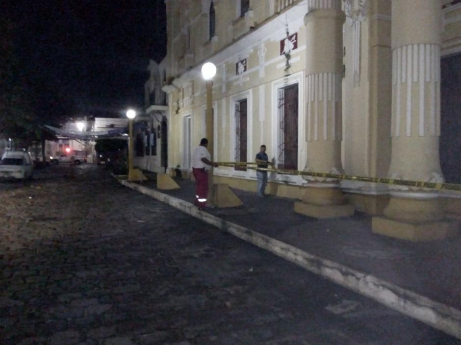 También en Retalhuleu la Cruz Roja reportó daños. (Foto: Cruz Roja)