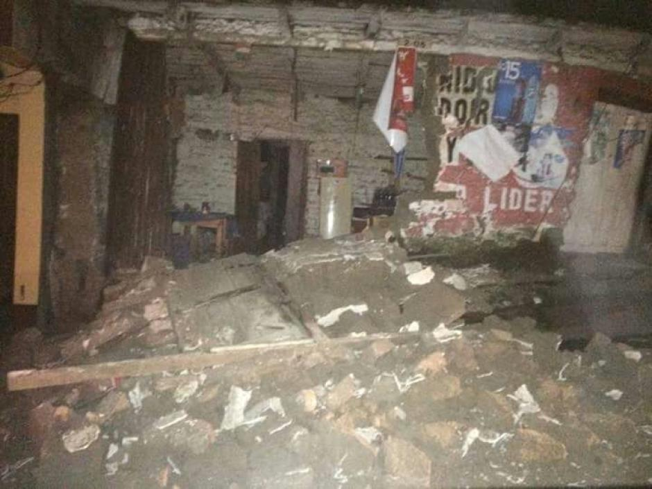 Suspenden clases en Quetzaltenango y San Marcos debido al fuerte sismo. (Foto: Cruz Roja Guatemalteca)