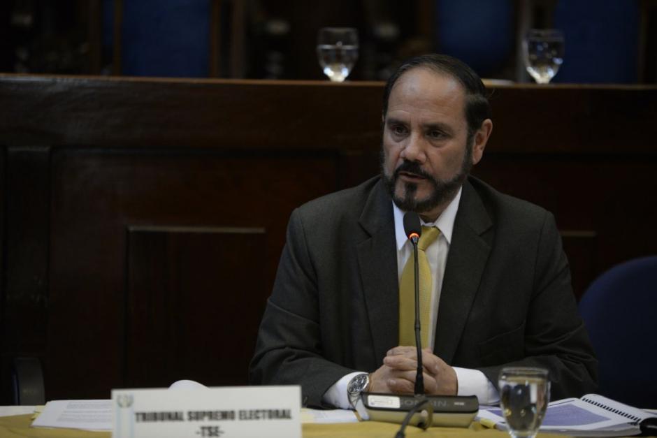 Leopoldo Guerra, director del Registro de Ciudadanos. (Fotos: Wilder López/Soy502)