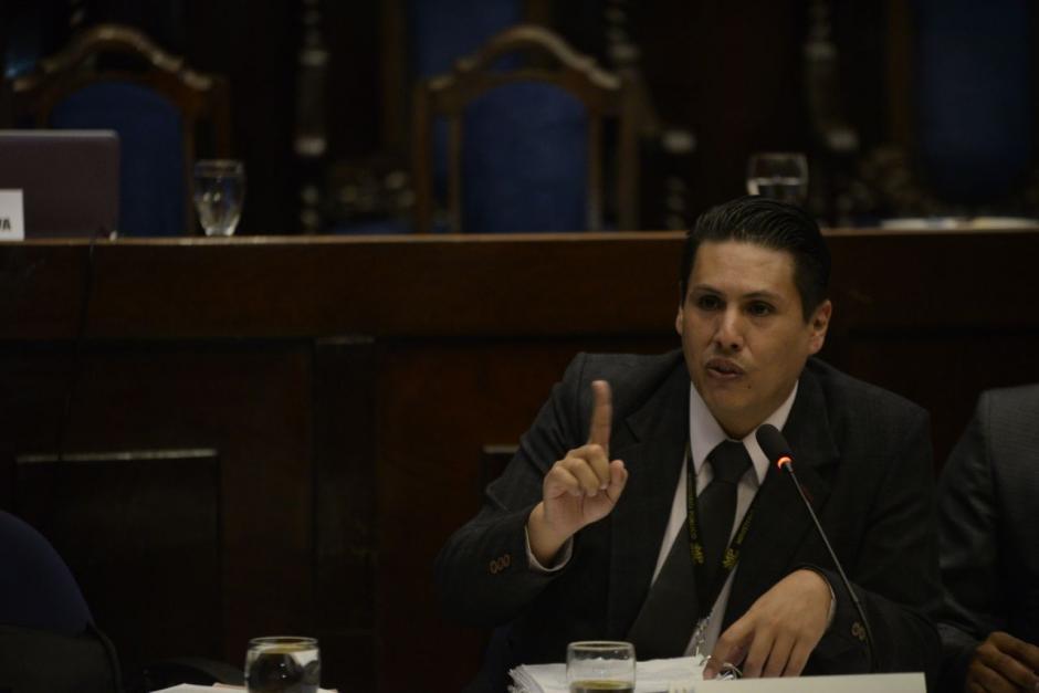 Fiscal Oscar Schaad durante su intervención. (Fotos: Wilder López/Soy502)