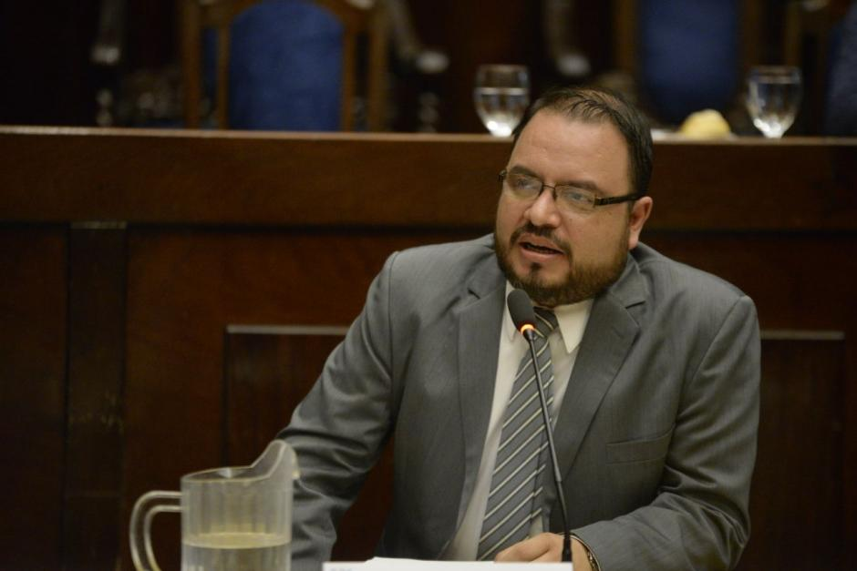 Marvin Palacios secretario de finanzas del partido FC Nación. (Fotos: Wilder López/Soy502)