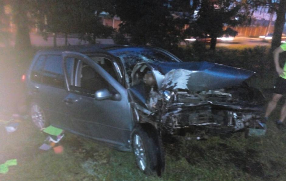 Otro accidente se registró en el bulevar principal de San Cristóbal. (Foto: @EmixtraPablo)
