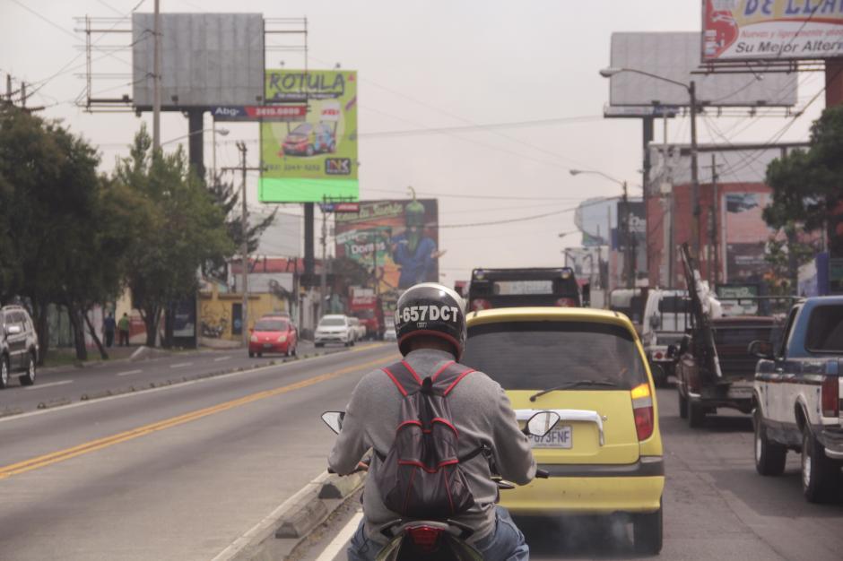 La calzada Aguilar Batres también será parte de los recorridos patrios. (Foto: Fredy Hernández/Soy502)