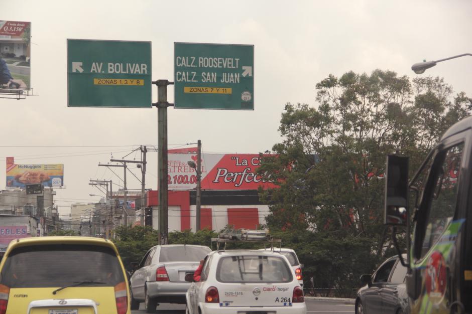 Varias rutas importantes se verán afectadas por las antorchas. (Foto: Fredy Hernández/Soy502)