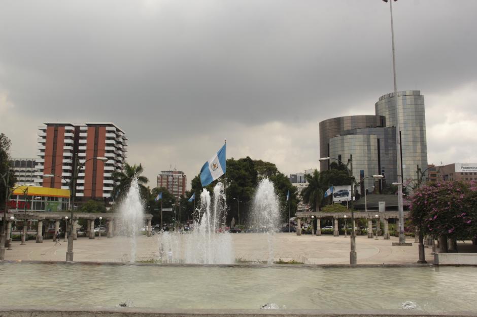 El sector del Obelisco será el punto de reunión de las antorchas. (Foto: Fredy Hernández/Soy502)