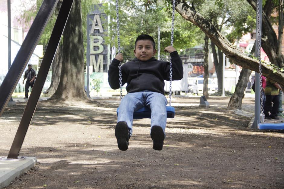 El área de juegos infantiles promete ser la favorita de las familias. (Foto: Fredy Hernández/Soy502)