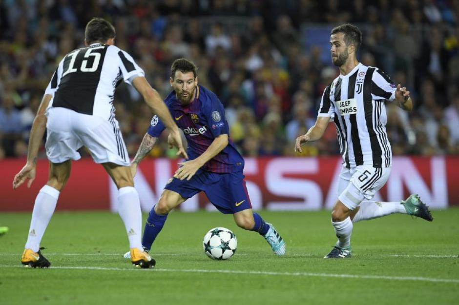 Messi le marcó doblete a la Juventus y a Buffon. (Foto: AFP)
